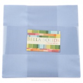 Bella Solids Baby Blue Junior Layer Cake by Moda