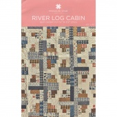 River Log Cabin Quilt Pattern by MSQC