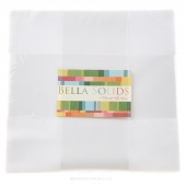 Bella Solids Bleached White Junior Layer Cake by Moda