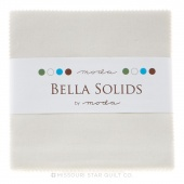 Bella Solids  Feather Charm Pack by Moda