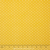 Cozy Cotton Flannels - Yellow Dots Yardage