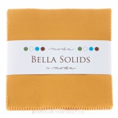 Bella Solids Golden Wheat Charm Pack by Moda