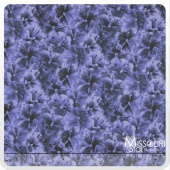 Lovely -  Allover Blue Yardage