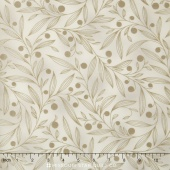 Flutter - Vines Cream Yardage