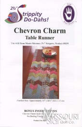 Chevron Charm Table Runner Pattern