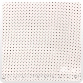 Moda Essential Dots - White Red Yardage