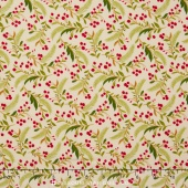 Tole Christmas - Berries & Pine Parchment Yardage