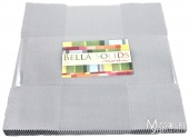 Bella Solids Silver Layer Cake