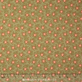 Hyde Park - Sweet William English Ivy Yardage