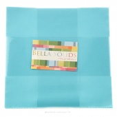 Bella Solids Robin's Egg Blue Junior Layer Cake by Moda