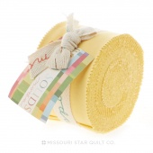 Bella Solids 30's Yellow Junior Jelly Roll