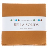 Bella Solids Hay Charm Pack