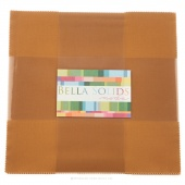 Bella Solids  Hay Junior Layer Cake by Moda
