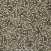 Flutter - Vines Dark Green Yardage
