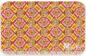 Tangier Ikat - Geo Orange Yardage