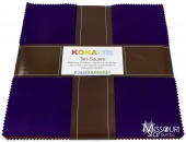 Kona Cotton - Dark Palette Ten Squares