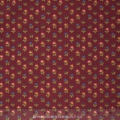 Sunflower Song - Leaf Trio Red Yardage