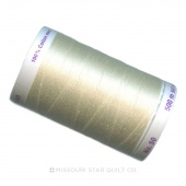 Mettler Thread - Muslin 547 yards - 100% Long Staple Egyptian Cotton - Silk Finish Thread - 50wt