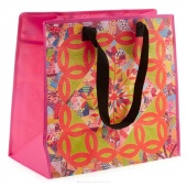 Eco Tote Double Wedding Ring Quilt Tote
