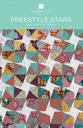 Digital Download - Freestyle Star Quilt Pattern