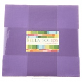 Bella Solids Hyacinth Junior Layer Cake by Moda