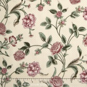 Belcourt - Wallpaper Floral Rose Pink Yardage