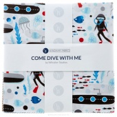 "Come Dive With Me 10"" Squares"