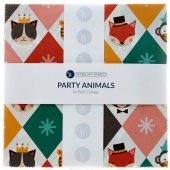 "Party Animals 10"" Squares"