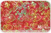Eat Your Fruits N' Veggies Batiks - Cherry Yardage