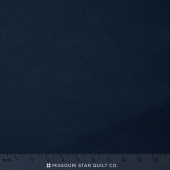 "Kona Cotton - Navy 108"" Wide Backing"