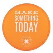 Make Something Today Collapsible Hand Fan - Orange