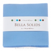Bella Solids 30's Blue Charm Pack