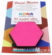 Kona Cotton - Classic Hexie Cuts