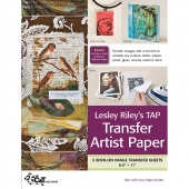 TAP Transfer Artist Paper 5 Sheet Pack by Lesley Riley