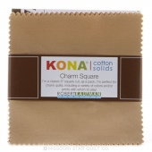 Kona Cotton - Sediment Charm Pack