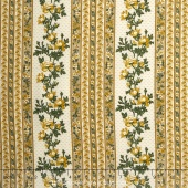 Belcourt - Wallpaper Stripe Buttercup Yellow Yardage