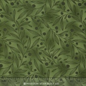 Flutter - Vines Green Yardage