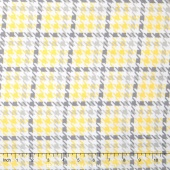 Cozy Cotton Flannels - Plaid Yellow Yardage