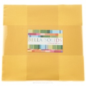 Bella Solids Buttercup Junior Layer Cake by Moda