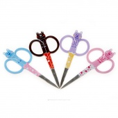 Purrfect Points Embroidery Scissors - Cat