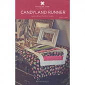 Candyland Runner Pattern by MSQC
