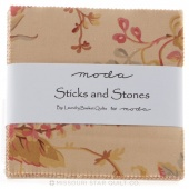 Sticks & Stones Prints Charm Pack