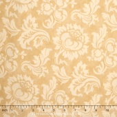 Mille Couleurs - Wide Damask Sepia Backing