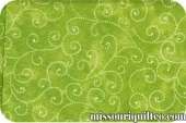 Marble Swirls - Lime Yardage