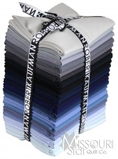 Kona Cotton Solids - Slate Rock Colorstory Fat Quarter Bundle
