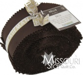 Kona Cotton Solids - Coffee (Brown) Roll-Up
