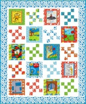 Lorax Panel Quilt Kit - Bright