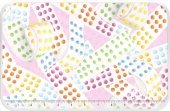 Sweet Tooth 2 - Candy Dots Pink Yardage