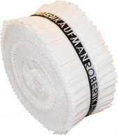 Kona Cotton Solids - White Roll-Up
